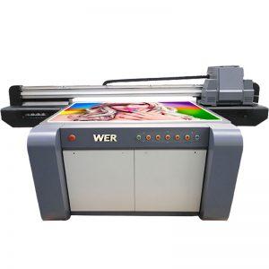 3D-ефект УФ-планшетний принтер, керамічний принтер, плитка друкарська машина в Китаї WER-EF1310UV