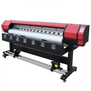 6 футів Друк Відео WER-ES1901 DX5 / DX7 головний екологічний розчинник Принтер у Гуанчжоу Постачальник