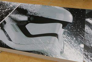 Рекламний щит, надрукований широкоформатним УФ-принтером WER-G2513UV
