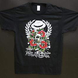 Чорна футболка друкує зразок цифровим текстильним принтером A1 WER-EP6090T