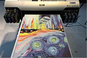 Зразки полотна від A2 UV Printer WER-EH4880UV