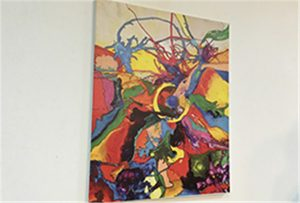 Зразки полотна, надруковані принтером U1 формату WER-EP6090UV