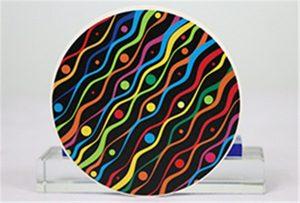Зразки керамічного друку з Rioch head uv WER-G2513UV