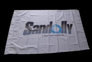 Прапор Тканина, надрукована 1,6 м (5 футів) екологічний розчинник WER-ES160