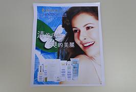 ПВХ-банер, надрукований принтери екологічного розчинника WER-ES3201 розміром 3,2 м (10 футів)