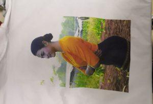 T-shirts друкують зразок для клієнта Бірма від принтера WER-EP6090T