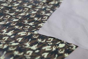 Текстильний друк зразка 1 цифровим текстильним друкарським верстатом WER-EP7880T