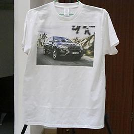 Біла прикраса з футболкою з друкарською футболкою A3 WER-E2000T 2