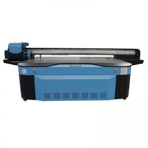 повнокольоровий CMYK LCLM білий лак УФ-планшетний принтер 3D WER-G2513UV