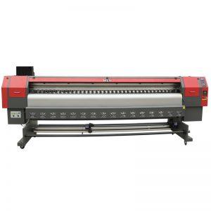 екологічний розчинник принтера dx7 головний принтер 3.2m цифровий гнучкий банер, вініловий принтер WER-ES3202